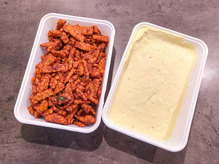 vegan verpakkingsvrije boodschappen toko en hummus van de markt albert cuyp