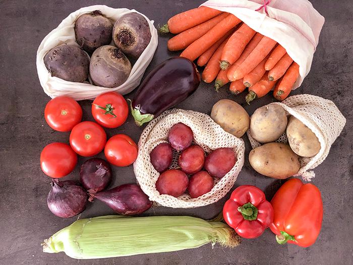 vegan verpakkingsvrije boodschappen ekodis biologisch