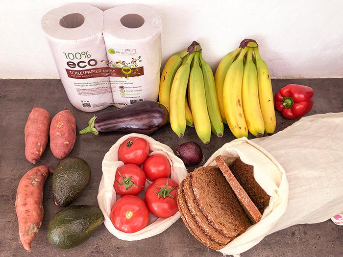 vegan zero waste boodschappen ekodis biologische supermarkt